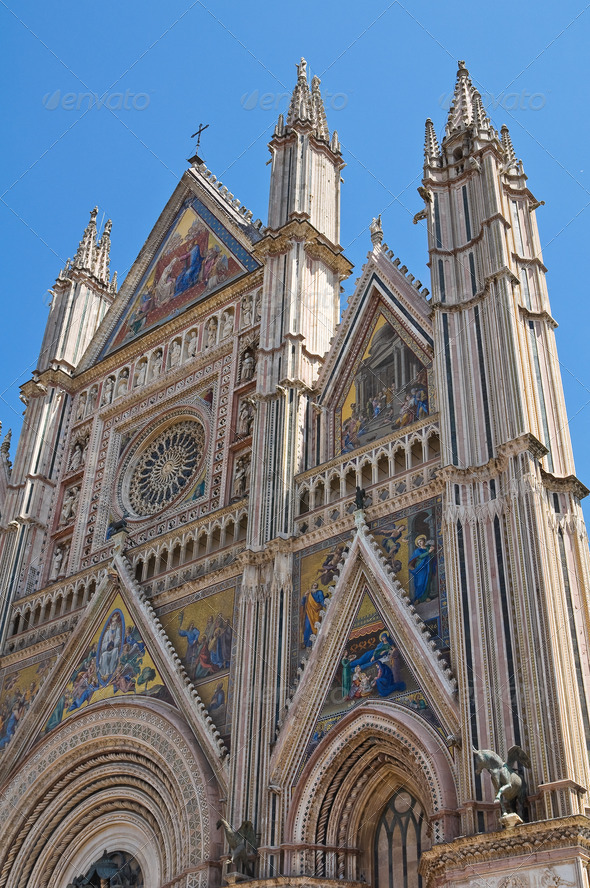 PhotoDune Cathedral of Orvieto Umbria Italy 3665472