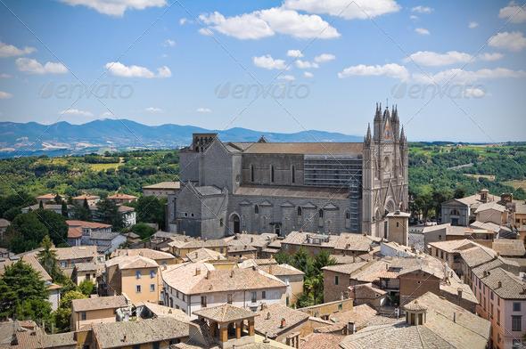 PhotoDune Panoramic view of Orvieto Umbria Italy 3665471