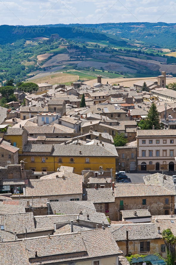 PhotoDune Panoramic view of Orvieto Umbria Italy 3665473