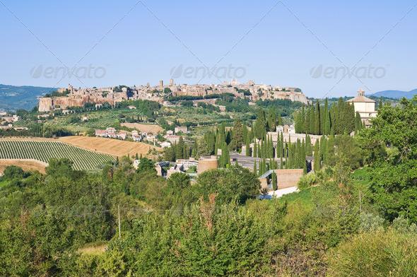 PhotoDune Panoramic view of Orvieto Umbria Italy 3665475