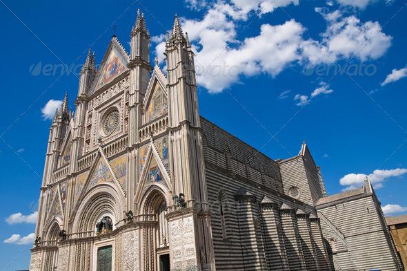 PhotoDune Cathedral of Orvieto Umbria Italy 3665477