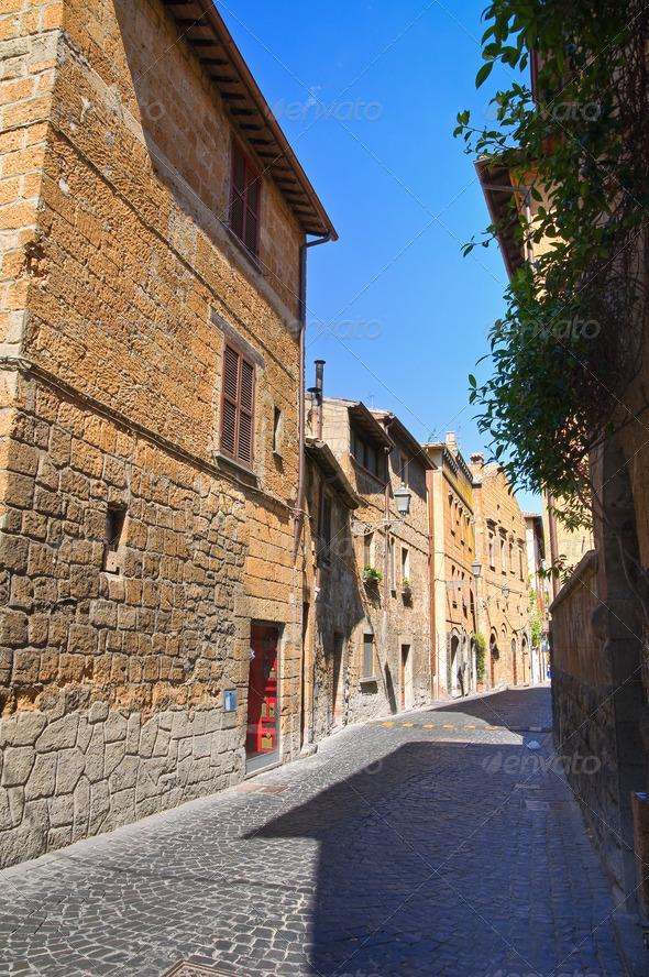 PhotoDune Alleyway Orvieto Umbria Italy 3665474
