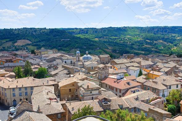 PhotoDune Panoramic view of Orvieto Umbria Italy 3665484