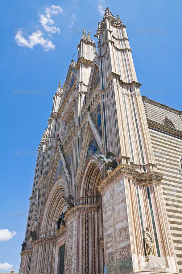 PhotoDune Cathedral of Orvieto Umbria Italy 3665486