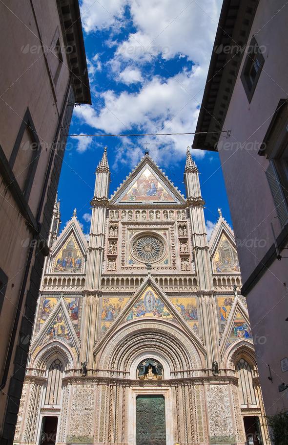 PhotoDune Cathedral of Orvieto Umbria Italy 3665488