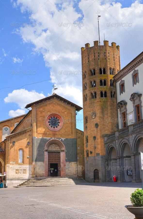 PhotoDune Town Hall Building Orvieto Umbria Italy 3665497