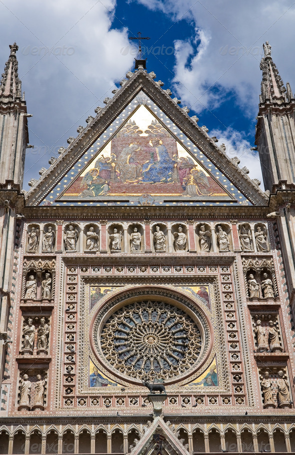 PhotoDune Cathedral of Orvieto Umbria Italy 3665496