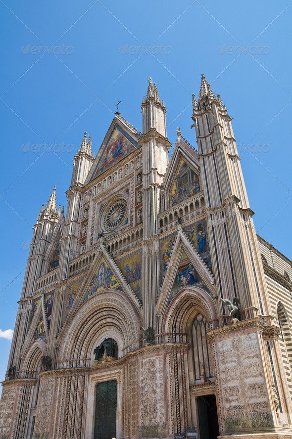 PhotoDune Cathedral of Orvieto Umbria Italy 3665499