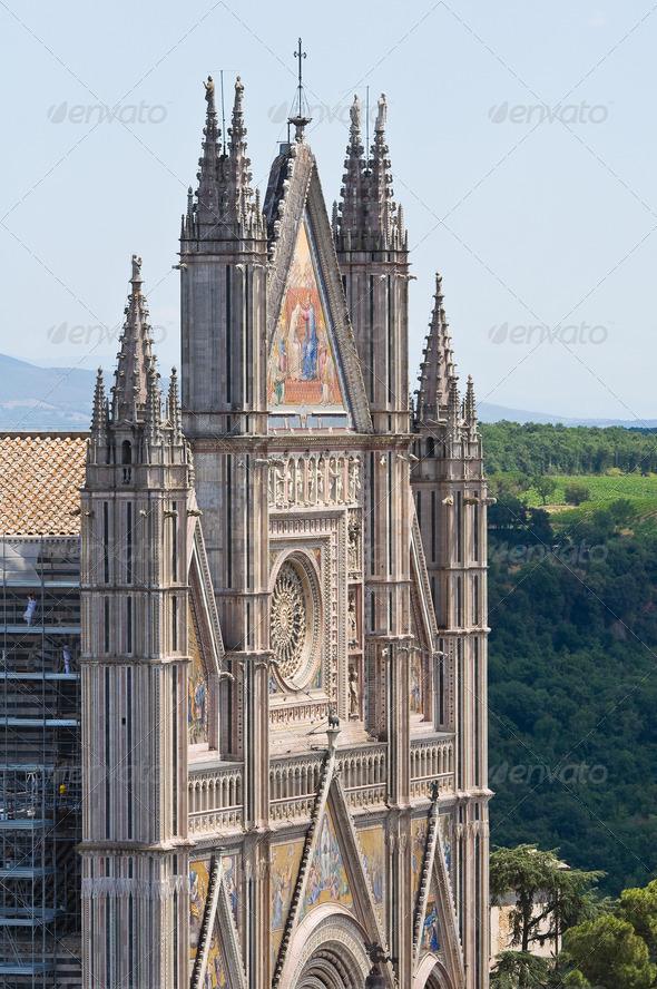 PhotoDune Cathedral of Orvieto Umbria Italy 3665506