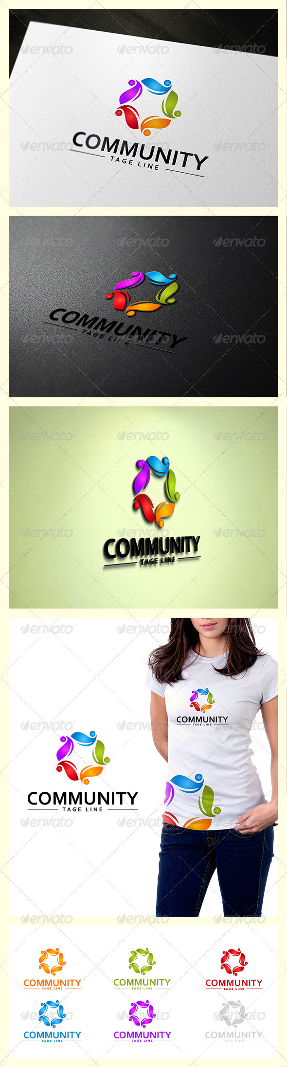 GraphicRiver Community Star Logo 3666013