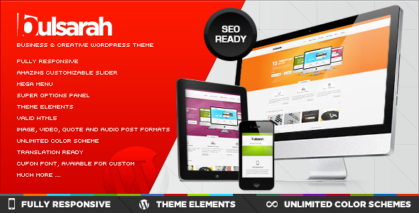 ThemeForest Bulsarah Business & Creative theme Powerful SEO 2688110
