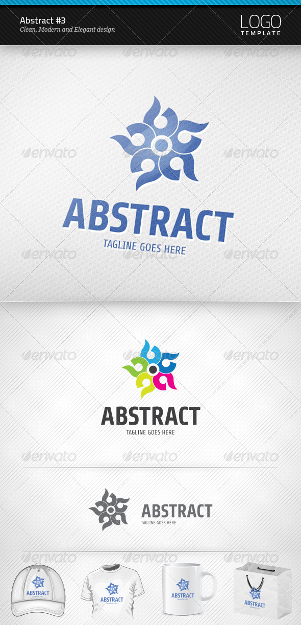 Abstract Logo #3 - Symbols Logo Templates