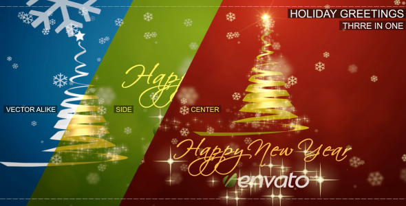 VideoHive Holiday Greetings 3666697