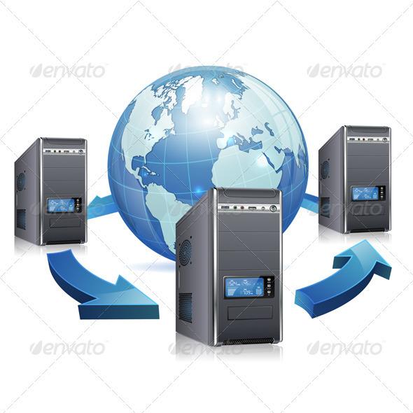 GraphicRiver Network Concept 3666772