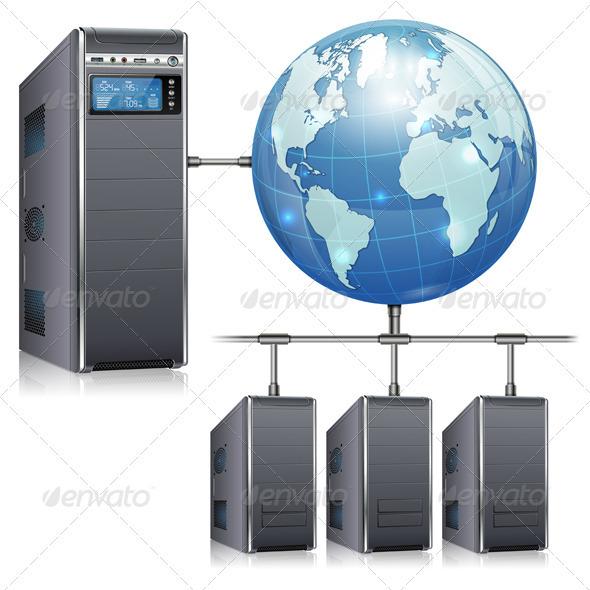 GraphicRiver Network Concept 3666775