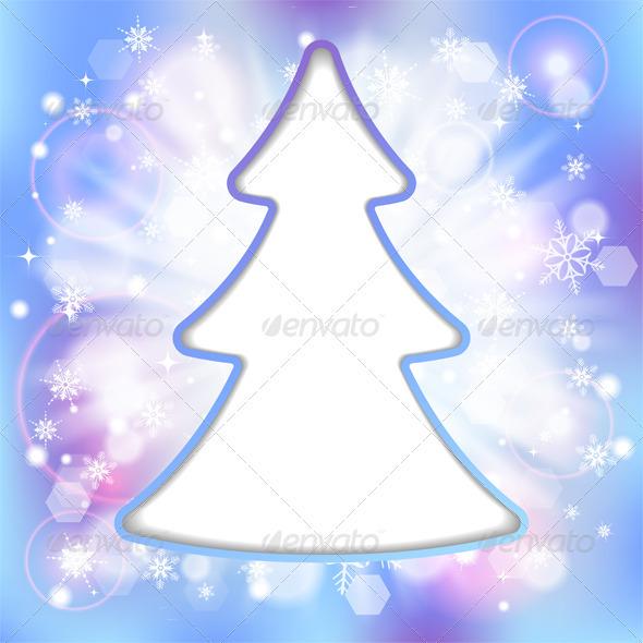 GraphicRiver Christmas Frame 3666781