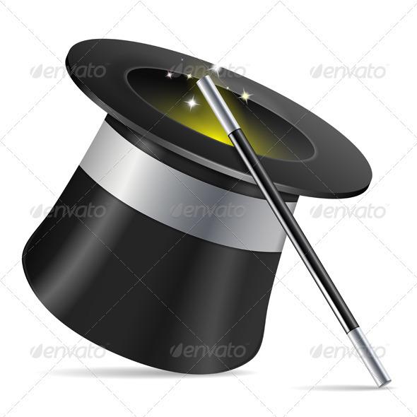 GraphicRiver Magician Hat 3666783