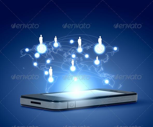 PhotoDune Modern communication technology 3667956