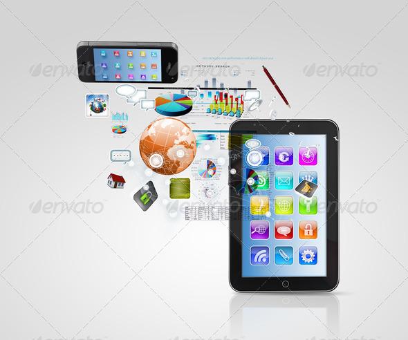 PhotoDune Modern communication technology 3667967