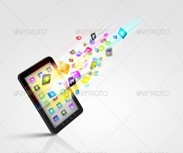 PhotoDune modern technology media 3667971