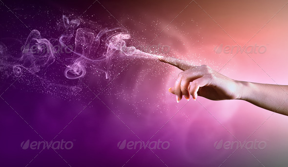 PhotoDune magical hands conceptual image 3667983