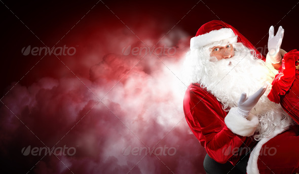 PhotoDune christmas theme with santa 3667990