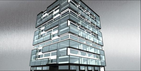 3DOcean Office Building 3666907