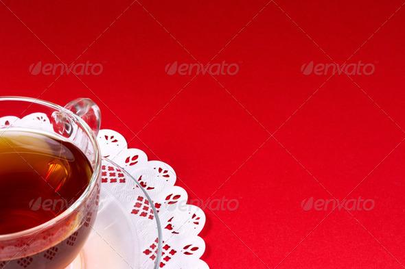 PhotoDune Tea in glass cup 3667736