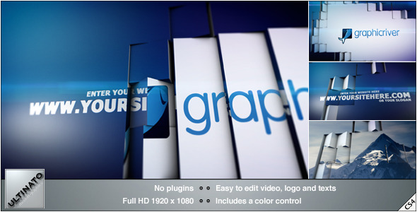 VideoHive Tile Revolution Logo 3668165