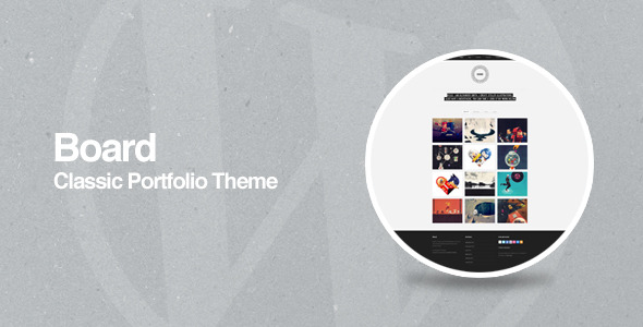 Board - WordPress Portfolio Theme