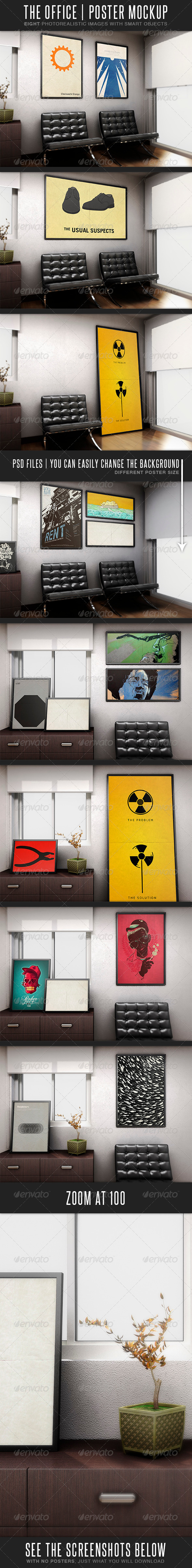 GraphicRiver The Office MockUp 3669780
