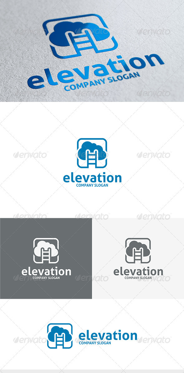 GraphicRiver Elevation Logo 3670004