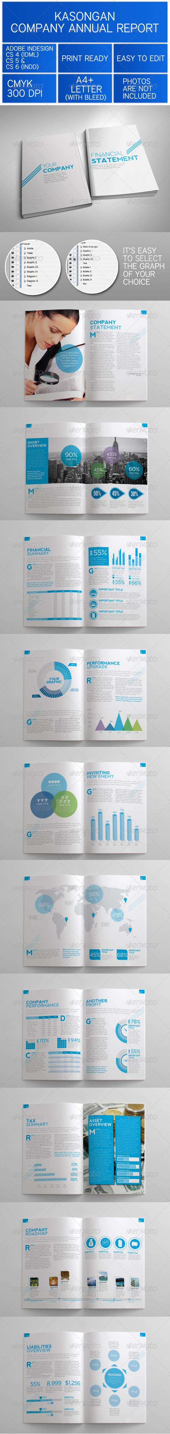 GraphicRiver Kasongan Company Annual Report 3572083