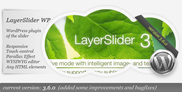 LayerSlider WP - The WordPress Parallax Slider