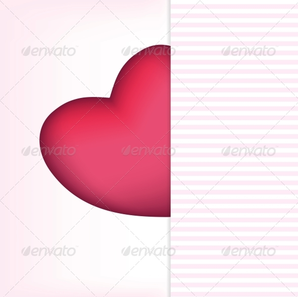 Valentines Day Card - Vector