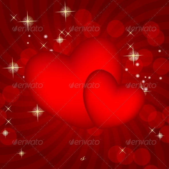 GraphicRiver Valentines Day Card Vector 3670199