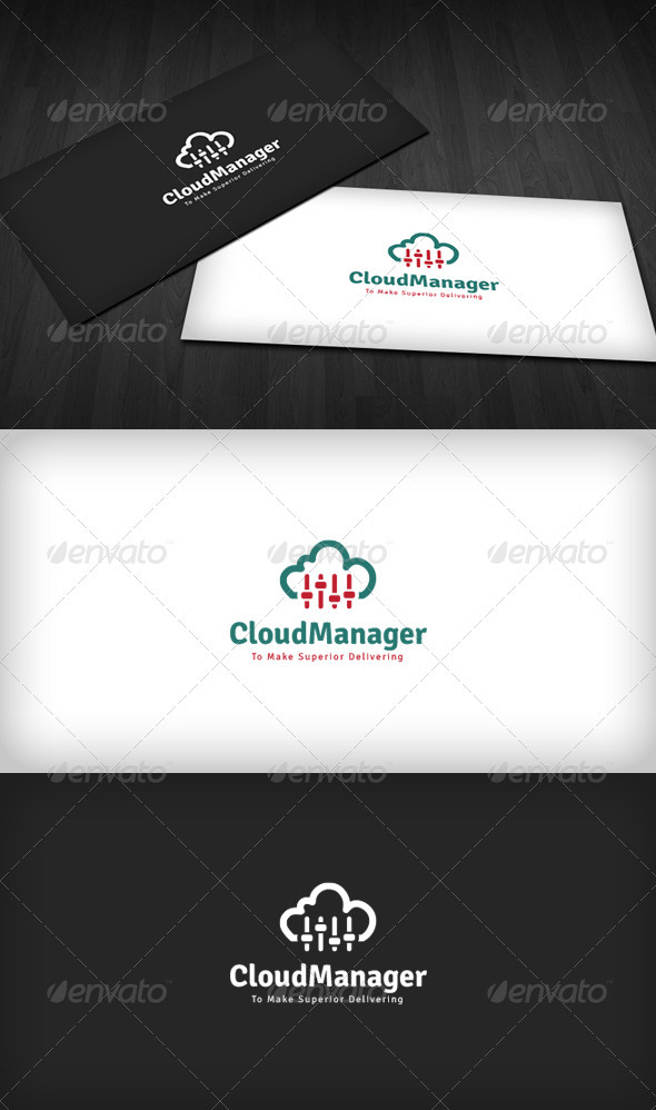 GraphicRiver Cloud Manager Logo 3670312