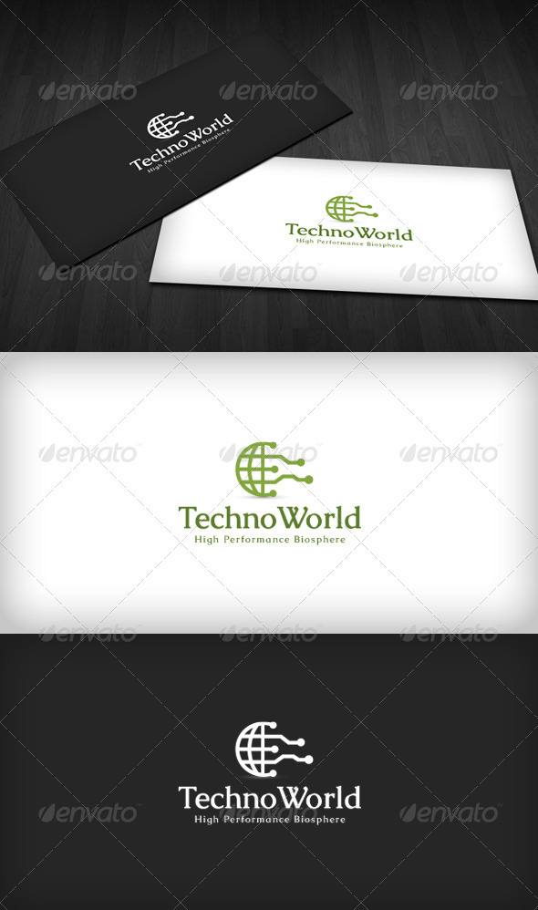 GraphicRiver Techno World Logo 3670355