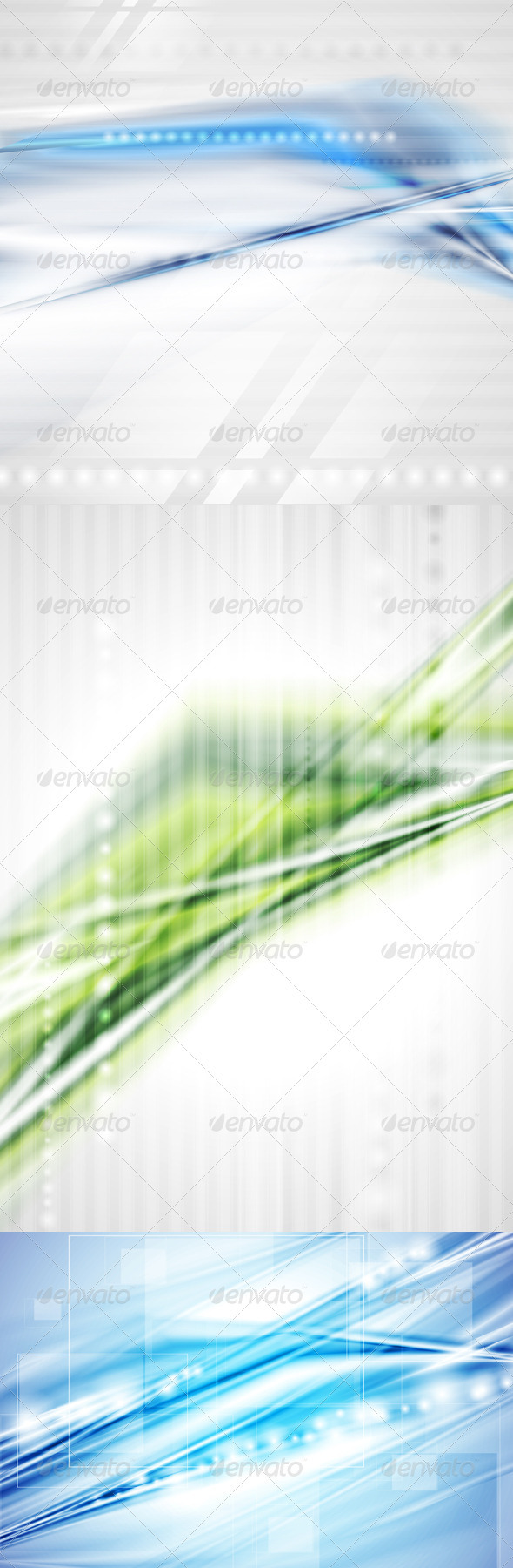 GraphicRiver Abstract Modern Technical Backgrounds 3411939