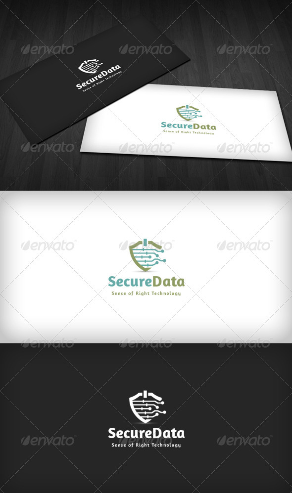 GraphicRiver Secure Data Logo 3670427