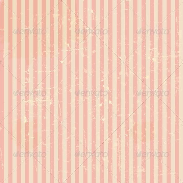GraphicRiver Vintage Floral Background 3670677