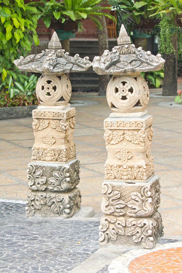 PhotoDune Sandstone statue at Chonburi historical park 3675840
