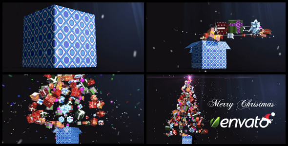 VideoHive Christmas Gifts 3643577