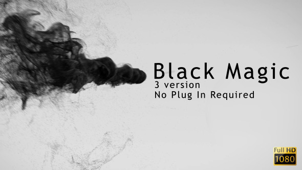 VideoHive Black Magic 3671451