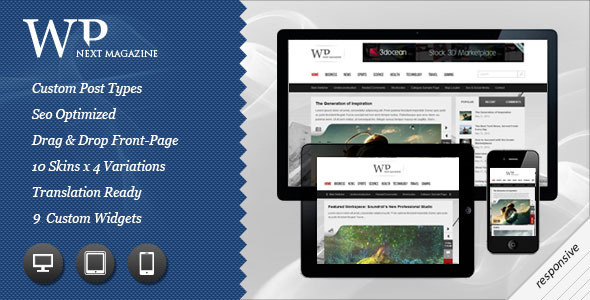 ThemeForest Next Responsive WP Magazine 2459941