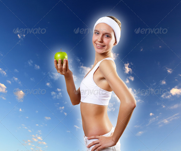 PhotoDune Sport and healthy food 3674515