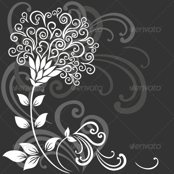 GraphicRiver Floral Background 3674968