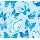 Seamless Pattern with Butterfly - GraphicRiver Item for Sale