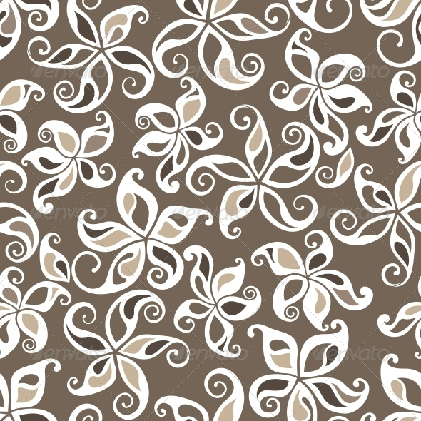 GraphicRiver Seamless Floral Pattern 3674977