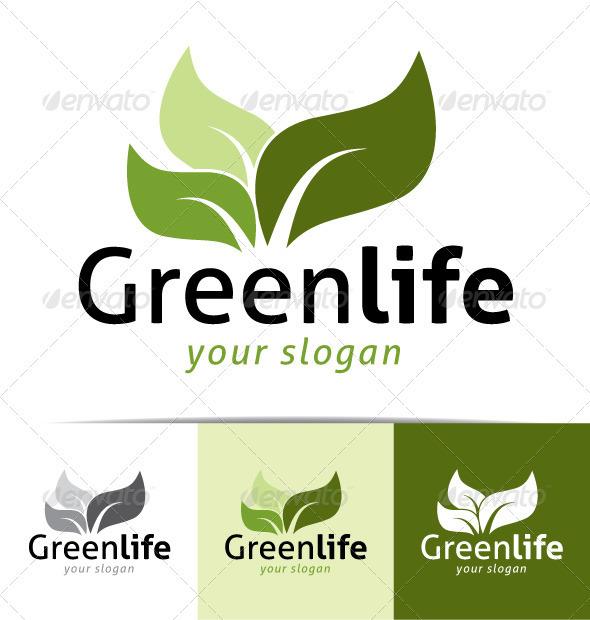 GraphicRiver Greenlife Logo 3649730